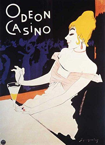 Das Museum Outlet–Art Postkarte–Odeon Casino–Set von 12Postkarten