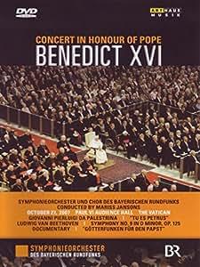 Concert in Honour of Pope Benedict XVI