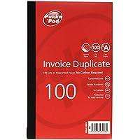 Pukka Invoice Duplicate Book NCR Carbonless 1-100