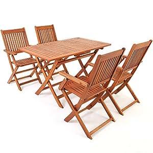 Gartenmöbel set holz günstig  Amazon.de: Sitzgruppe 5tlg SYDNEY Sitzgarnitur Gartengarnitur Holz ...