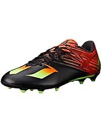 brand new a7ef2 8cf1f Adidas Performance Messi 15.2 de fútbol de zapatos, negro  shock verde   rojo solar