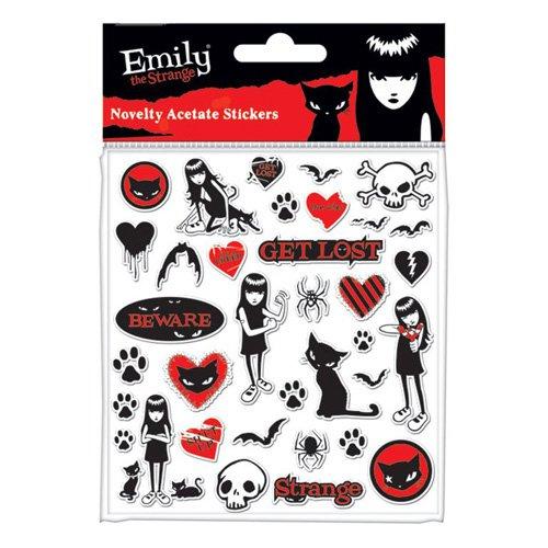 Emily The Strange Sticker Set Acetate Pack
