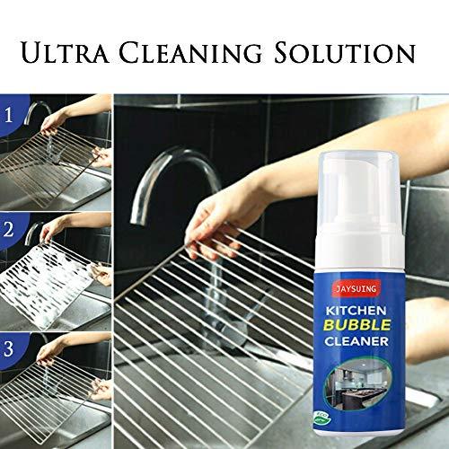 OGGID Limpiador de Burbujas Multiusos para el hogar Producto de Moho Quita Grasas Cocina Acero Inoxidable, Desinfectante Textil, Limpiador de Multifuncional para Baño Porcelanato 100ML