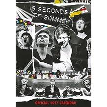 5 Seconds of Summer Official 2017 A3 Calendar