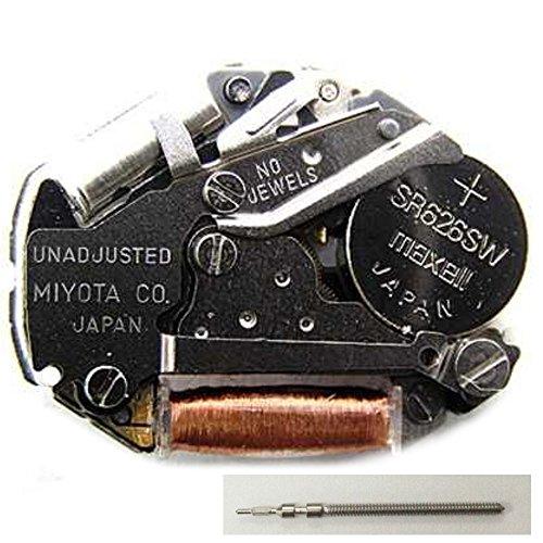 Japan Miyota 2035 Quarz-Uhrwerk Batterie Stellwelle inklusive