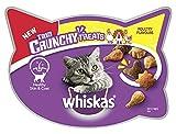Whiskas Trio Crunchy Cat Treats Poultry Flavors, 55 g