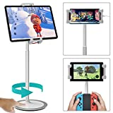 Best Tablet Floor Stands - Klearlook Tablet&Cell Phone Stand, Height&Multi-Angle Adjustable-Tilt 76 Degree Review