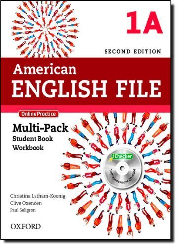 American English File 2E 1 Multipack A: With Online Practice and iChecker 2 Pap/Psc edition by Latham-Koenig, Christina, Oxenden, Clive, Seligson, Paul (2013) Paperback
