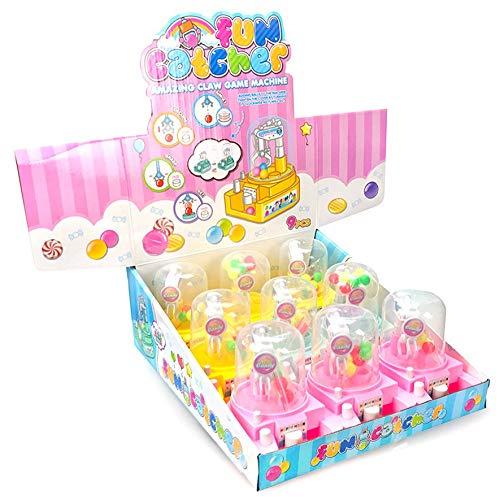 8Eninine Mini greifen Ball Maschine Kinder Spielzeug Candy Catcher Kaugummi Kran Kinder Party Spielzeug