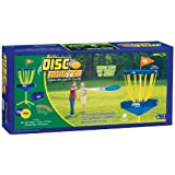 POOF-Slinky - Ideal Disc Master Classic Flying Disc Golf Game with Tee Flags and Storage Bag, 0X0765 by Fundex Games