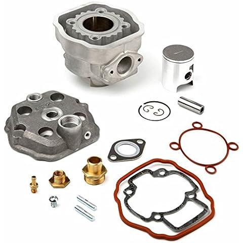AIRSAL - 33454 : Kit Completo De Aluminio 49,2Cc Piaggio Nrg, Zip Agua (01061940)