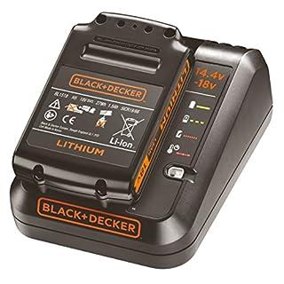 BLACK+DECKER 1Ah Charger for 18V and 14.4V Batteries, Orange, BDC1A15-QW, 18V