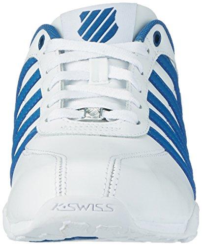 K-swiss Arvee 1.5, Zapatillas Bajas Atléticas Para Hombre, Blancas (blanco / Azul Brunner / Negro)