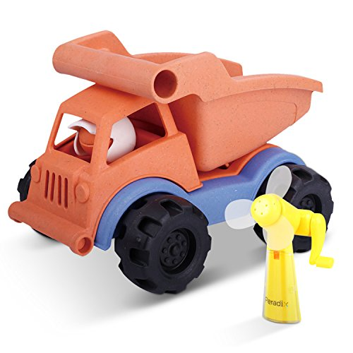 Peradix camion giocattolo bambini con cassone rbaltabile colori vivaci