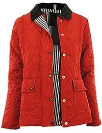 Abbi Frauen Gesteppte Reißverschluss Nautische Futter Damen-Jacken-Mantel