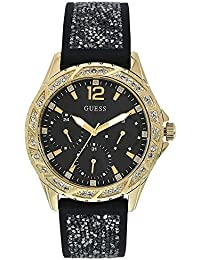 30e164090 Guess Analog Black Dial Women's Watch-W1096L3