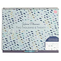 Boxclever Press Home Planner Wall Calendar. Month-to-View Academic, School Year Family Planner. Calendar 2019 to 2020 with Large Spaces for Each Day. Starts September