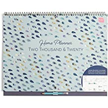 Boxclever Press Home Planner Calendar 2019 2020. Month-to-View Academic 2019-2020 Calendar. School Year Family Planner. Wall Calendar 2019/2020 with Large Spaces for Each Day. Sept '19 - Dec '20.
