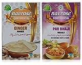 #2: Navrose Ginger Powder and Pav Bhaji Masala, 200 grams (Combo of 2)