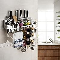 SBWYLT-Ware dimensioni ripiano di cucina multifunzionale coltello in acciaio inox cucina pendente: 60cm