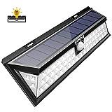 Mpow 54 LED-Sicherheitsleuchten, solarbetriebene Lampen für draußen, wasserfeste Solarlichter mit 120 Grad-Weitwinkelbewegungssensor für den Garten, die Terrasse, die Beleuchtung von Gehwegen [Ultrahell]