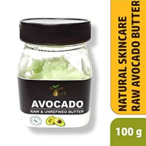 NatureSack-The Best Of Nature Raw and Unrefined Natural Avocado Butter (100g)