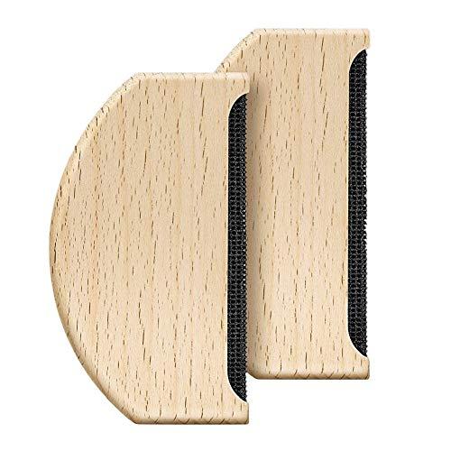 MJ style 2 Stücke Kaschmir Kamm Manuelle Tragbare Kleidung Pinsel Werkzeug für De-Pilling Kleidung Kleidungsstücke Stricken Wollene Schals Wolle Mäntel Hosen Pflege