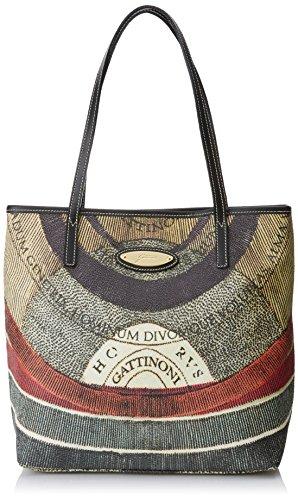Gattinoni Gacpu0000088, Borsa a Spalla Donna, 13x27x29 cm (W x H x L) Multicolore (Classico)