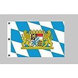 Fortuna de bandera de Baviera con león 150cm x 250cm