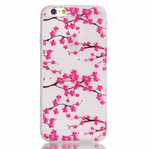 TPU Leuchtende Nacht Silikon Schutzhülle Handyhülle Painted pc case cover hülle Handy-Fall-Haut Shell Abdeckungen für Smartphone Apple iPhone 5 5S SE +Staubstecker (8) 5