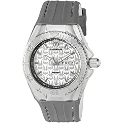 TechnoMarine TM-115153 - Reloj de cuarzo para hombres, color gris