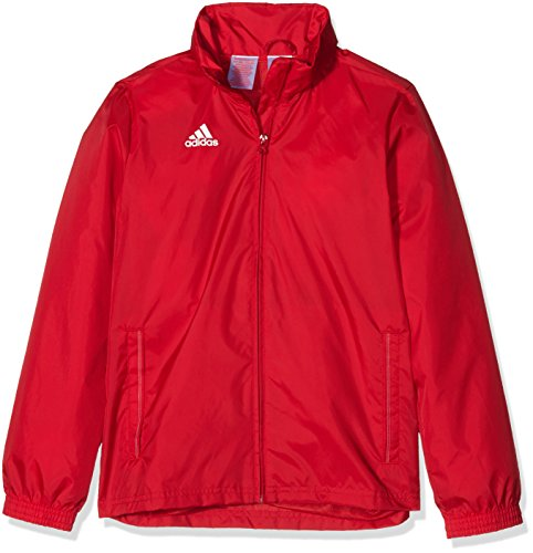 adidas Kinder Jacke/Anoraks Coref rai jkty Regenjacke, Power Red/White, 128 -