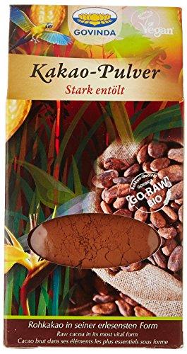 Govinda Poudre de Cacao Dégraissée Bio 100 g