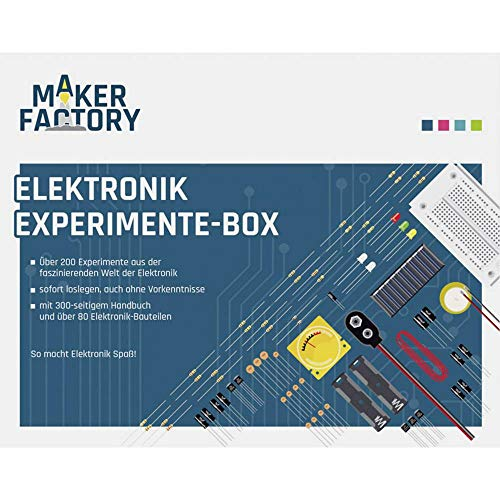 MAKERFACTORY MF Elektronik-Experimente-Box 150387 Experimentier-Box