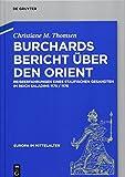 Burchards Bericht über den Orient: Reiseerfahrungen eines staufischen Gesandten im Reich Saladins 1175/1176 (Europa im Mittelalter, Band 29)