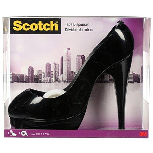 scotch-brite-shoe-810-portarollos-de-sobremesa-diseno-de-zapato-negro
