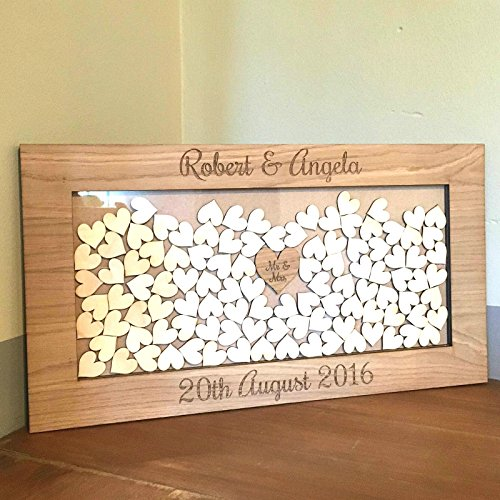 Descargar PDF Wooden Drop Box Wedding Guest Book Alternative ...