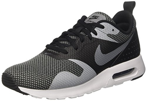 NIKE AIR MAX TAVAS PRM, black/dk grey heather/white, 42.5, 898016 (Heather Dk)