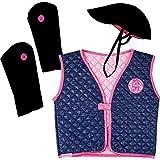 Amazone Cavalier Costume Déguisement pour Enfant 4-8 ans (Taille 98-116) Amis des Chevaux Pferdefreunde