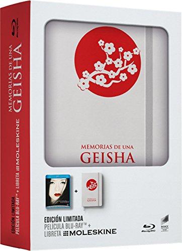 Memorias De Una Geisha + Libreta Moleskine (Edición Limitada) [Blu-ray]
