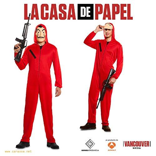 n Kostüm Phantom Gelddieb Haus des Geldes La Casa De Papel Bankräuber Karneval (M/L) (Netflix Kostüme)