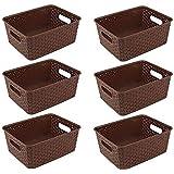 Xllent Royal Multipurpose Medium Plastic Storage Basket Container Box for Fruit, Vegetable, Makeup , Office Stationary…