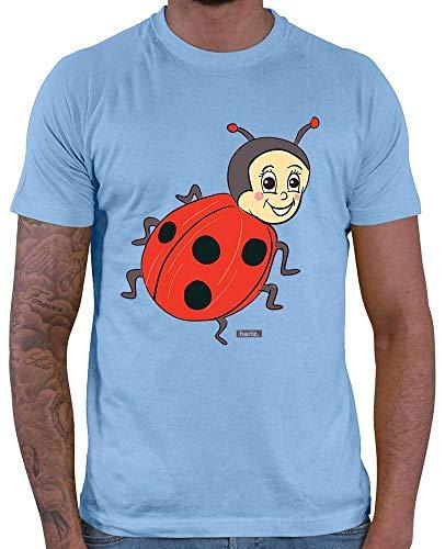 Original Übergröße Kostüm - HARIZ Herren T-Shirt Marienkäfer Kleeblatt Tiere
