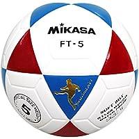 Mikasa FT5, balón Footvolley Unisex adulto, Unisex adulto, Ft5, Bianco/Azzurro/Rosso