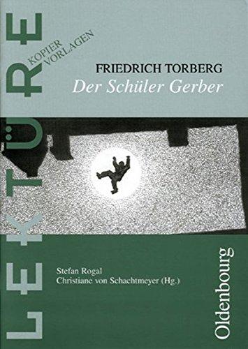 Lektüre: Kopiervorlagen: Der Schüler Gerber