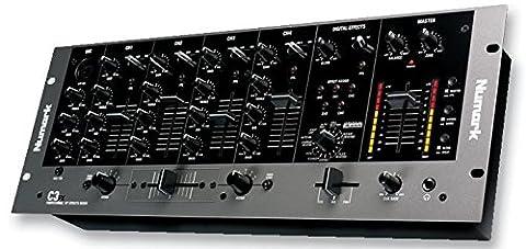 NUMARK C3FX DJ MIXER RACKMOUNT 5 CHANNEL +FX [1] Pro-Series (Epitome Verified)