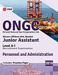 ONGC (Oil and Natural Gas Corporation Ltd.)2019 - Junior Assistant  Level A-I – Personnel and Administration