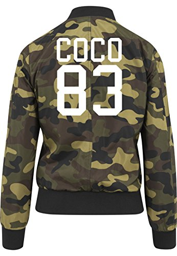 Coco 83 Bomberjacke Girls Camouflage Certified Freak-S
