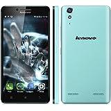 Lenovo K30 W - 4G Smartphone Libre Android 4.4 (Pantalla 5.0'' IPS, HD 1280x720 Quad Core 1.3 GHz, 1GRam, 16GRom, Dual Sim, Smart Wake) (Azúl)