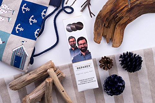 Reparex contra las canas para Barba y Bigote